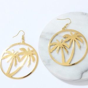 Palm Fashion Earrings